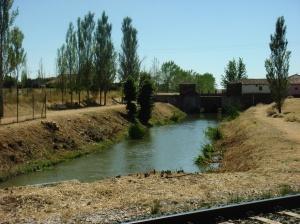 Alar del Rey. Canal de Castilla.