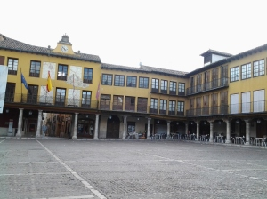 Plaza Mayor de Tordesillas (Valladolid)
