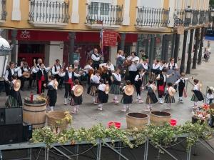 Día del viticultor en Herencia (Ciudad Real). Foto cortesía de Estudios Ángel&Gema