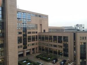 Sede del Consejo de la Unión Europea, en Bruselas (Bélgica)